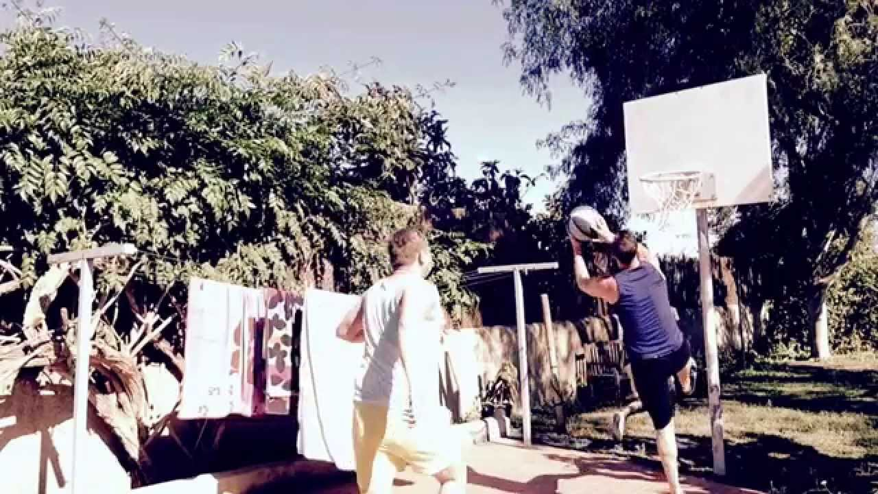 Basketball Slam dunk in Ibiza............ #skills #globetrotters