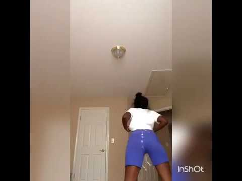 Black girl being spanked
