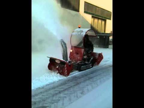 video fresa neve turbina spazzaneve tiger one morselli e maccaferri 0327 - YouTube
