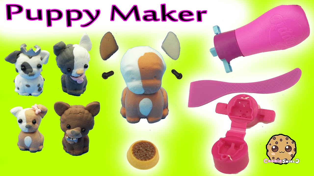 Poppit puppies clay dog do it yourself maker craft set with happy poppit puppies clay dog do it yourself maker craft set with happy places shoppies dolls youtube solutioingenieria Gallery