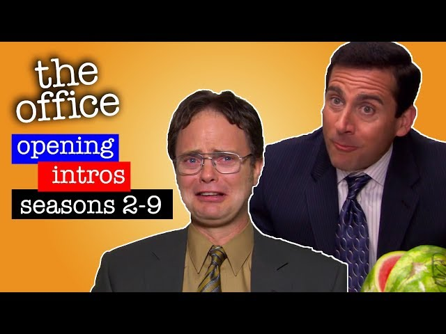 Every Seasons First Cold Open - The Office US