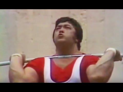 1980 Olympic Weightlifting, +110 kg \ Тяжелая Атлетика. Олимпийские Игры