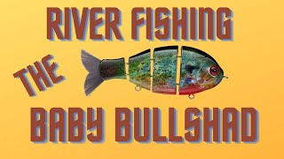 Kayak Bass Fishing - Bullshad River Fishing Episode 1