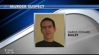 Souht Austin murder suspect Darius Bailey arrested in Bastrop County
