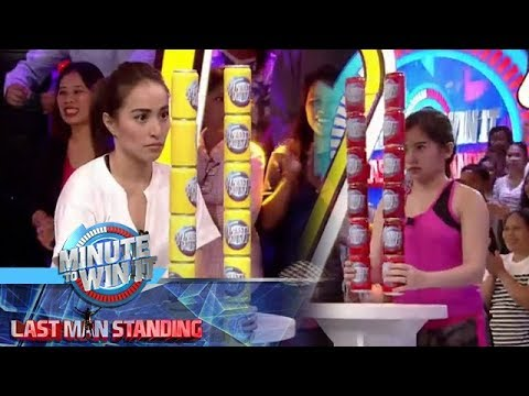Can-Tango | Minute To Win It - Last Man Standing