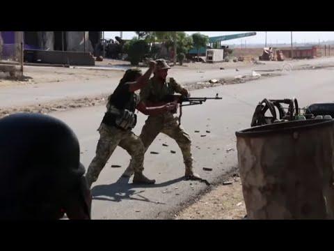 SYRIEN-KONFLIKT: Heftige Gefechte