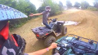 GETTING LOST ON NEW FOUR WHEELERS
