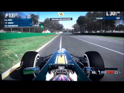 F1 2012 Season 2 Race 01 Australia - Legend AI - 100% - with commentary low-res