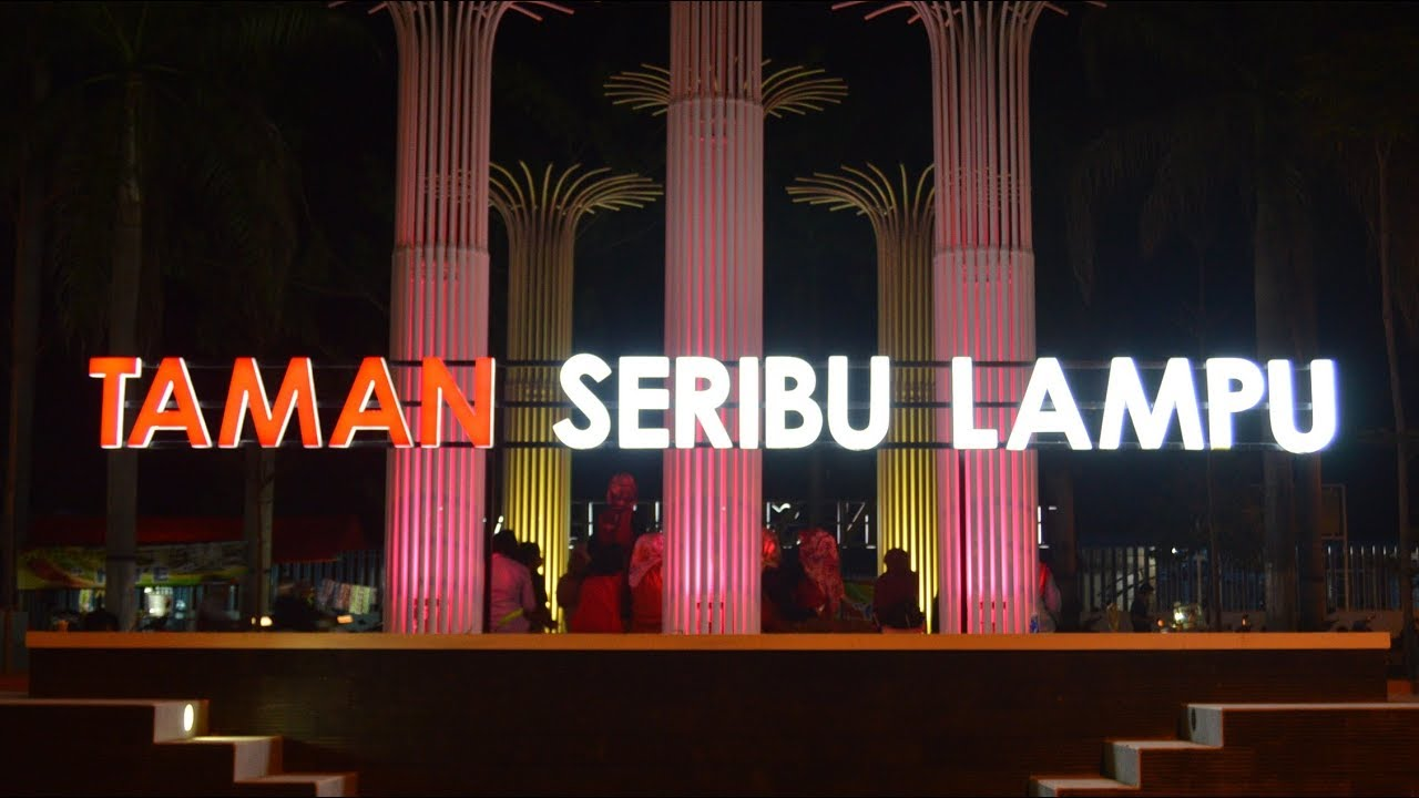 Wisatane Arek Cepu Vlog Video Taman 1000 Sewu Lampu Youtube