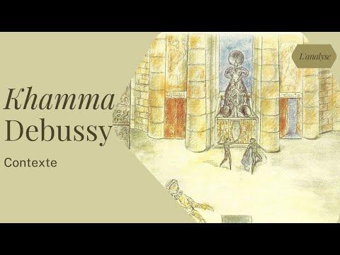 Le contexte de composition de Khamma de Debussy