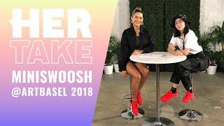 Nike Visionary Alexandra Hackett AKA @miniswoosh | #HerTake Art Basel Edition thumbnail