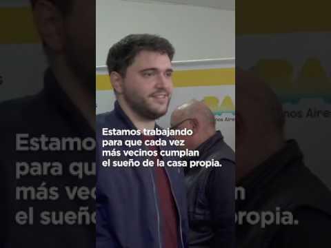 """<h3 class=""""list-group-item-title"""">EL SUEÑO DE LA CASA PROPIA ESTÁ MÁS CERCA - Horacio Rodríguez Larreta</h3>"""
