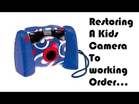 Review And Restoration Of The Fisher Price Digital Kids Camera