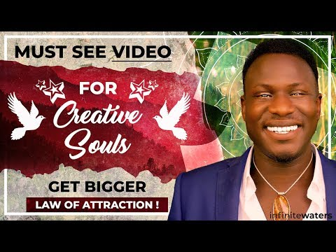 How to Build A Career From Your Creativity INSTANTLY!!! (Law of Attraction!)