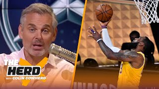 Colin Cowherd reacts to Lakers taking Game 1 over Heat, talks LeBron's legacy | NBA | THE HERD