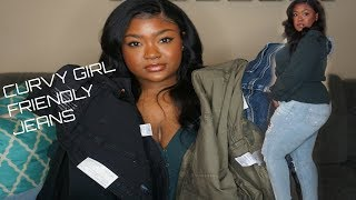 Best Jeans for Curvy Girls| American Eagle Jeans