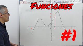 Funciones, conceptos básicos #1. Aprende matemáticas.