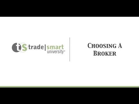 Choosing a Stock Broker