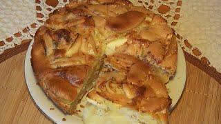 Шарлотка. Или пирог яблочный. Самый простой рецепт.