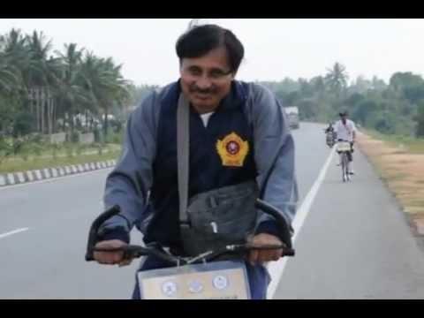Sainik School Bijapur   GJ Cycle Exp CM Hiremath