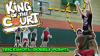 EPIC Trickshot 1v1 King of the Court BASKETBALL