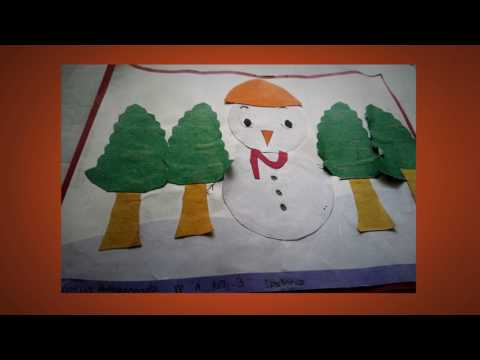 Christmas in the eyes of students of The Oxford Senior Secondary School, JP Nagar, Bangalore