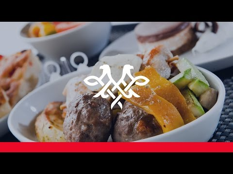 Air Serbia Catering: Fine dining above the clouds