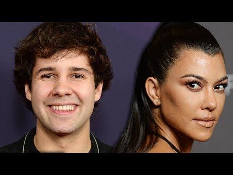 David Dobrik Flirts With Kourtney Kardashian In New