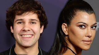 David Dobrik Flirts With Kourtney Kardashian In New Video