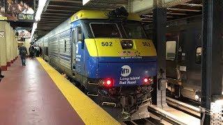 Long Island Rail Road EMD DM30AC C3 Bilevel Trains @ New York Penn Station (5/23/19)