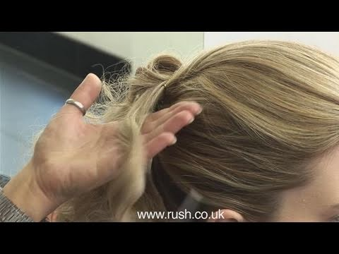 How To Style A Prom Ponytail Youtube