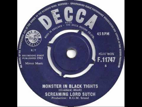 Screaming Lord Sutch - Monster In Black Tights