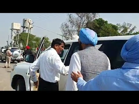 CM security adviser evicts Rana Gurmit Sodhi from an official vehicle in  convoy