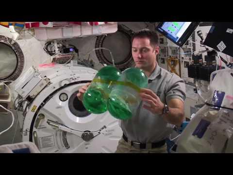 Sloshing in space