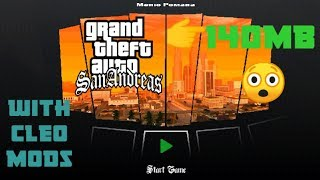 140mb download gta san andreas lite highly compressed apkdata with