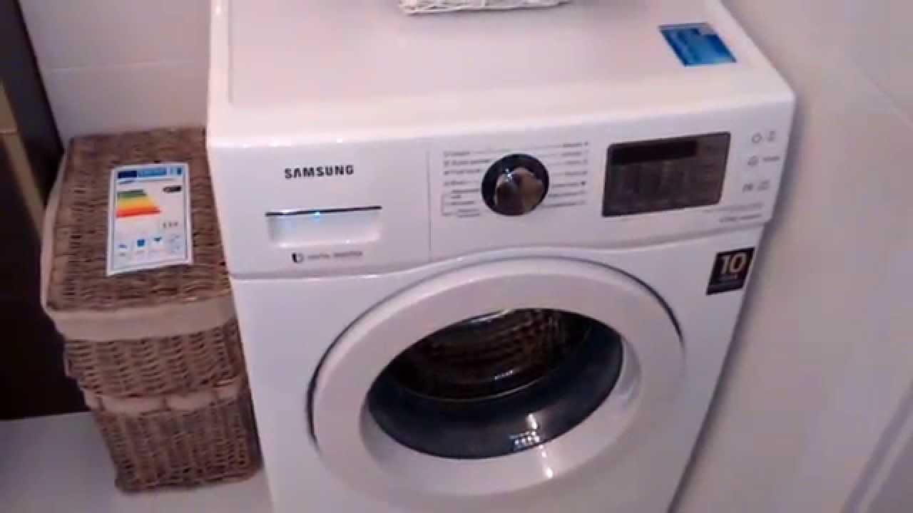 Pralka Samsung Wf600b0bkwq Recenzja Opinia Test Youtube