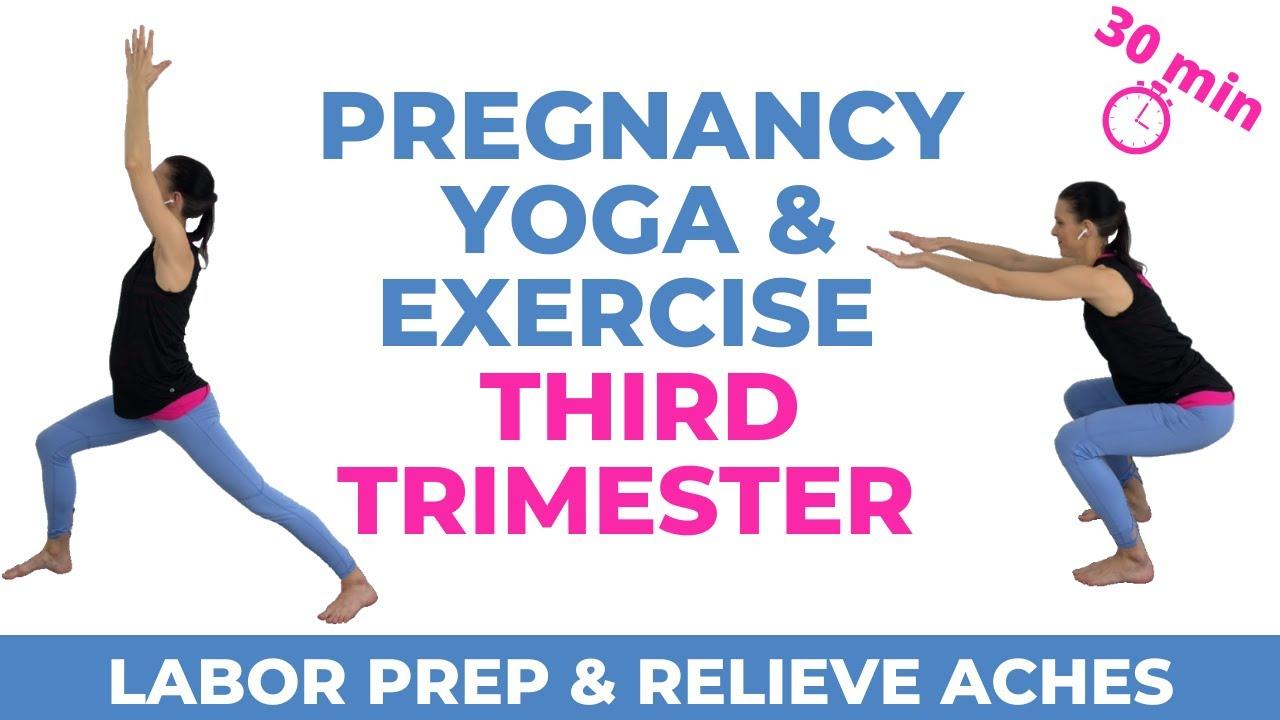 Pregnancy Exercise Third Trimester Youtube