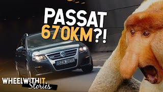 Passat R36 Turbo - szybszy niż somsiada | Wheel with it. Stories S01E01