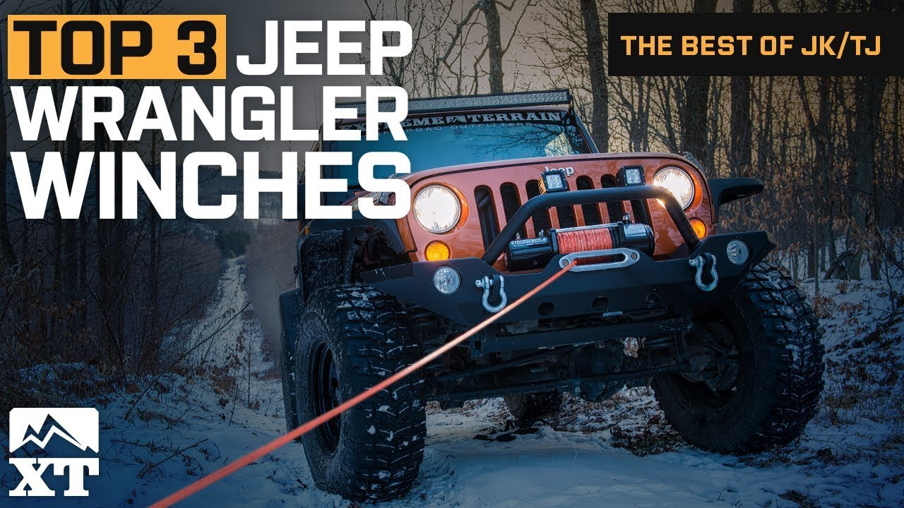 Winch For Jeep >> The 3 Best Jeep Wrangler Winches For Jeep Wrangler Jk Tj Youtube