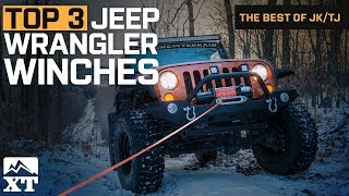 The 3 Best Jeep Wrangler Winches For Jeep Wrangler JK & TJ