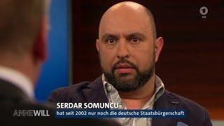 Serdar Somuncu kritisiert die doppelte Staatsbürgerschaft - Anne Will 02.04.2017 - Bananenrepublik