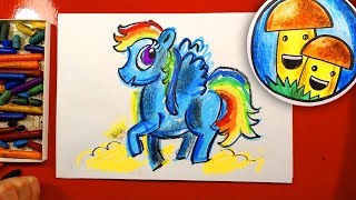 Как нарисовать ПОНИ урок рисования для детей