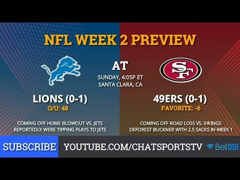 49ers vs. Lions: Preview, Prediction, Odds, & Key Matchups