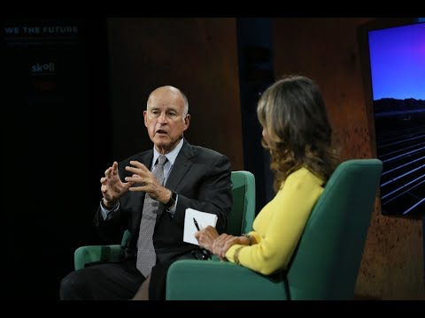 Jerry Brown & Sally Osberg: Vision and Action in a Changing Climate   #WTFuture