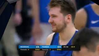 Oklahoma City Thunder vs Dallas Mavericks | December 31, 2019