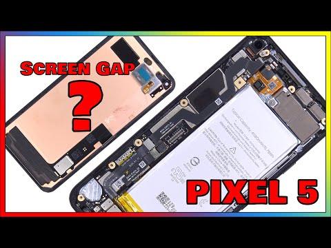 Google Pixel 5 5G Disassembly Teardown Repair Video Review. Screen Gap?