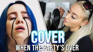 Billie Eilish - when the party's over (cover) | Aneta Kurková