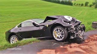 Fulda: Unfall bei Ferrari-Treffen