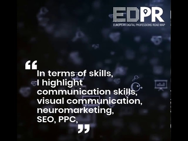 Social Media Manager - EDPR Project - Digital Professionals