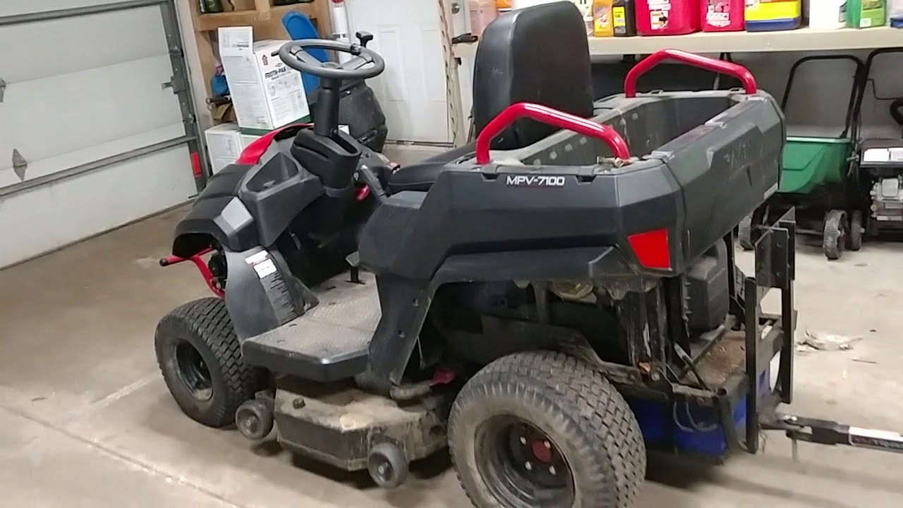 Raven Mpv 7100 Vs Toro Zero Turn